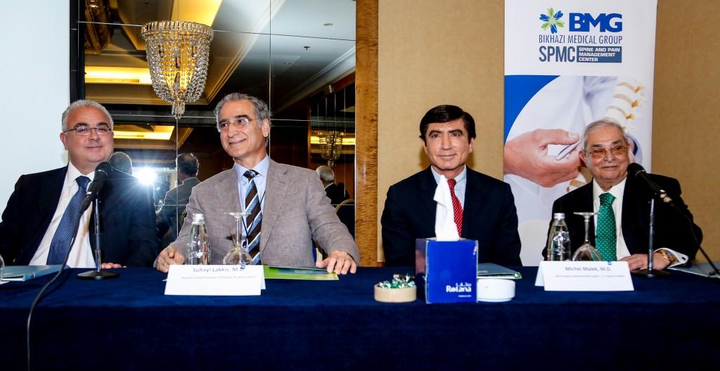BMG SPMC Medical Panel with Dr Kamal Bikhazi, Dr Michel Malek, Dr Ghassan Skaf and Dr Suhayl Lakkis